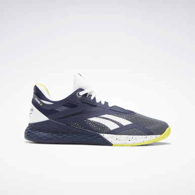 Men Training Blue Reebok Nano X Shoes