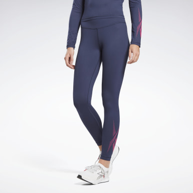 Dames Wandelsport Blauw Thermowarm Touch Base Layer Broek