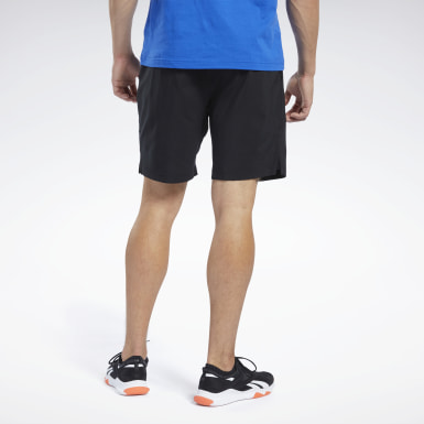 Men Cycling Black Workout Ready Shorts