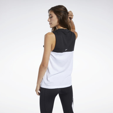 Women Dance Black Meet You There Reebok Graphic Tank Top