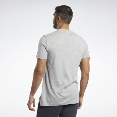 Men Fitness & Training Grey Training Essentials Tee