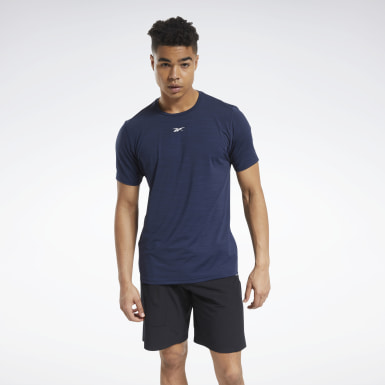 Men Cross Training Blue ACTIVCHILL Move Tee