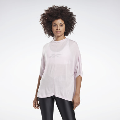 Women Studio Pink High Intensity Studio Tee