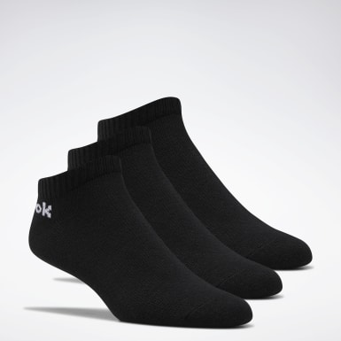 Fitness & Training Black Active Core Low-Cut Socks 3 Pairs