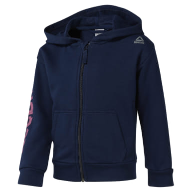 Girls Training Blue Girls Elements Fullzip Hoody