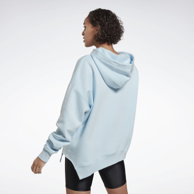 Women Studio Blue Studio Cozy Fashion Hoodie
