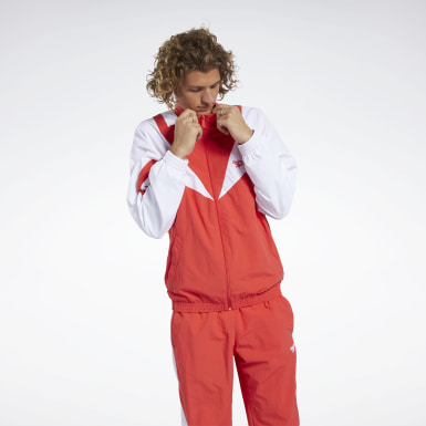 Classics Red Classics Twin Vector Track Jacket