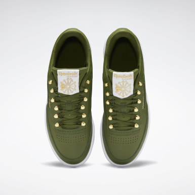 Kvinder Classics Green Club C 85 Shoes