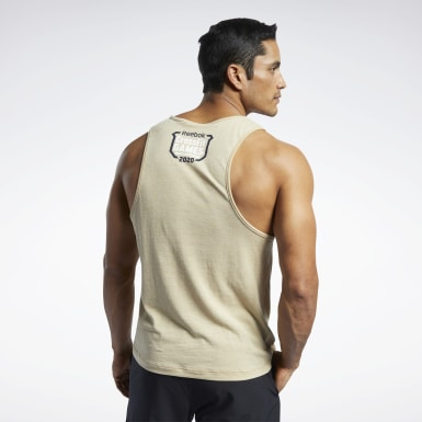 Men Cross Training Reebok CrossFit® Games ACTIVCHILL+COTTON Tank Top