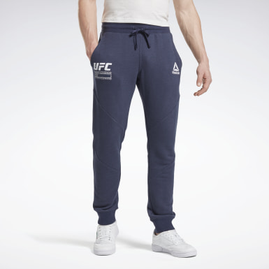 Pantalon UFC FG Fight Week Bleu Hommes Fitness & Training