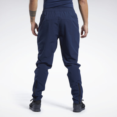 Pantaloni da allenamento United by Fitness Blu Uomo Fitness & Training