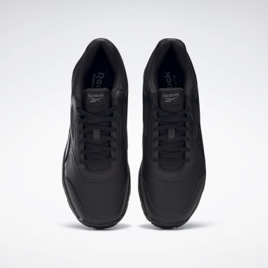Men Walking Black Work N Cushion 4 Men's Shoes