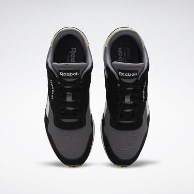 Men Classics Black Reebok Royal Ultra Shoes