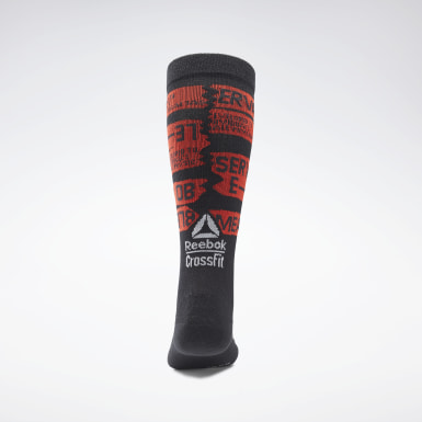 Chaussettes mi-montantes CrossFit® Engineered Noir Cross Training