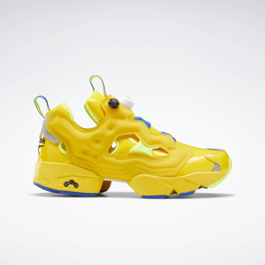 Classics Yellow Minion Instapump Fury Shoes