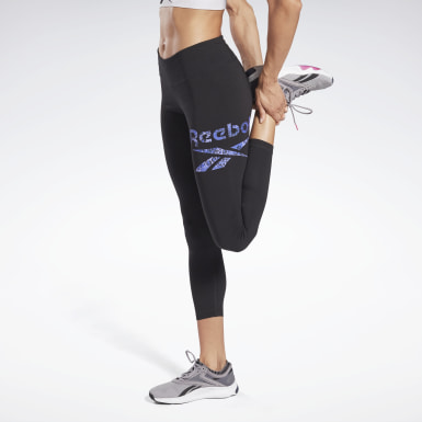 Legging en coton Modern Safari Noir Femmes Fitness & Training
