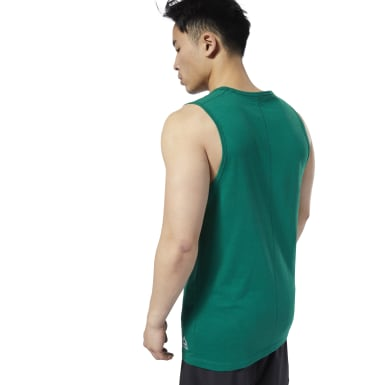 Camiseta sin mangas LES MILLS® Performance Cotton