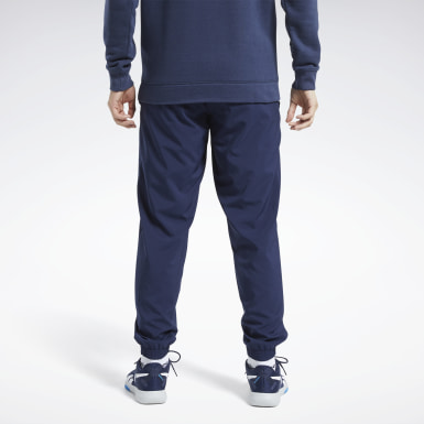 Männer Wandern Training Essentials Woven Cuffed Pants Blau
