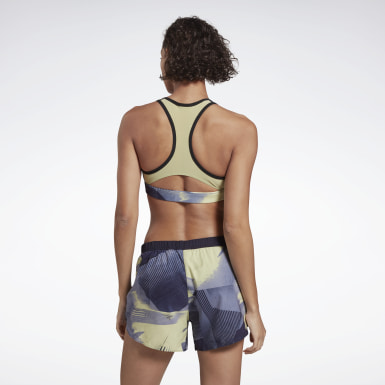 Running Essentials Medium-Impact Graphic Bra