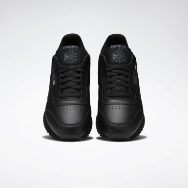 Men Classics Black Classic Leather Ripple Men's Shoes