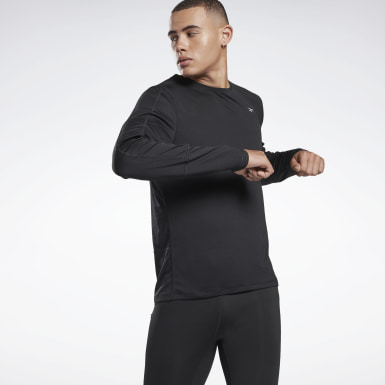 T-shirt Running Essentials Nero Uomo Trail Running