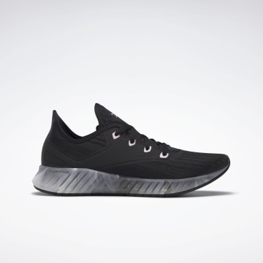 Women Running Black Reebok Flashfilm 2.0 Shoes