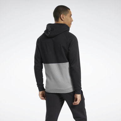 Men Fitness & Training Training Essentials Linear Logo Hoodie