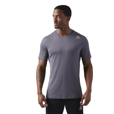 Men Fitness & Training Blue Training T-Shirt