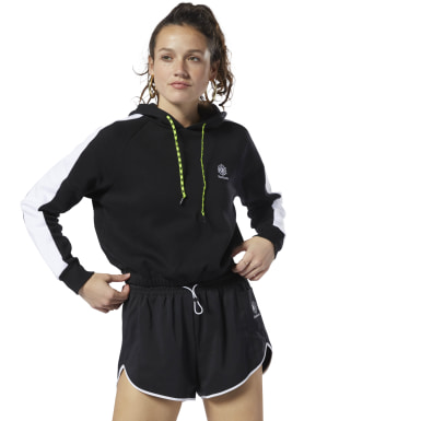Buzo Classic Leather Gp Cropped Hoodie