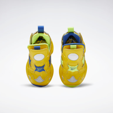 Boys Classics Yellow Minion Versa Pump Fury Shoes - Toddler