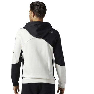 белый Худи Cordura Cotton Full Zip