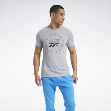 T-shirt Graphic Series Speedwick Grigio Uomo Yoga