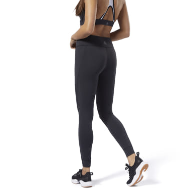 Women Fitness & Training Black Reebok Lux Tights 2.0