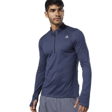 Пуловер Run Essentials Quarter Zip