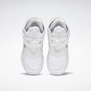 Classics White Juun.J Pump Court Shoes