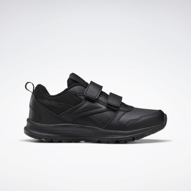 Boys Running Black Reebok Almotio 5.0 Shoes