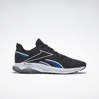 Men Running Black Liquifect Men's Running Shoes