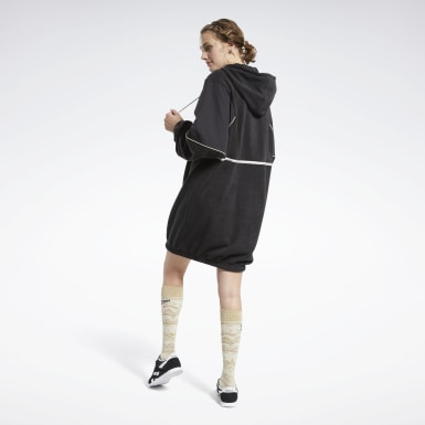Abito Classics Winter Escape Hooded Nero Donna Classics
