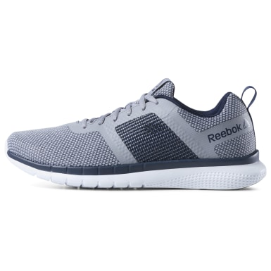 Men Running Grey Reebok PT Prime Runner FC Men's Running Shoes
