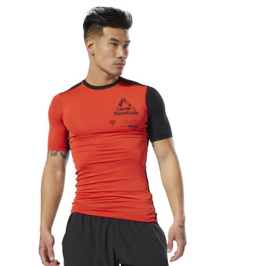 Training Graphic Compressie T-Shirt