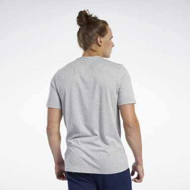Men Fitness & Training Grey Graphic Series Reebok 1895 Crew Tee