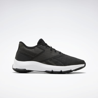 Women Walking Black Reebok Cloudride DMX 5.0 Shoes
