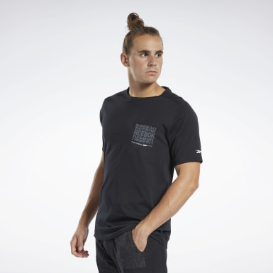 Herr Fitness & Träning Svart Training Supply Graphic Pocket Tee