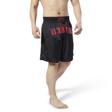 Fitness & Training Combat x InFightStyle Shorts Schwarz