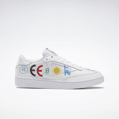 Classics White BlackEye Patch Club C 85 Shoes