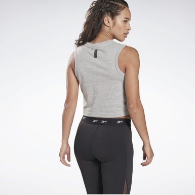Women Studio Grey LES MILLS® Graphic Tank Top