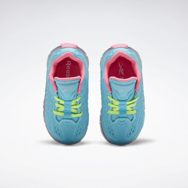 Girls Lifestyle Blue Zig Kinetica Shoes - Toddler