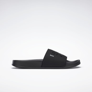 Men Swim Black Reebok Fulgere Men's Slide