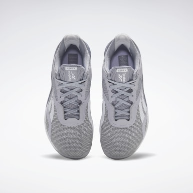 Women Cross Training Grey Reebok Nano X Shoes