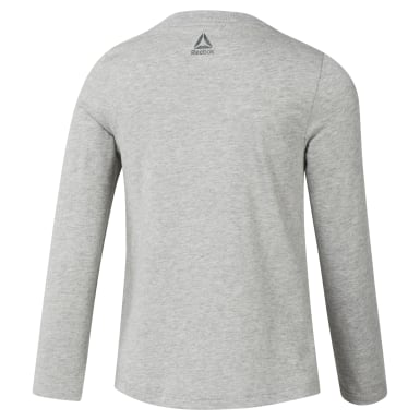 Girls Training Grey Girls Elements Longsleeve